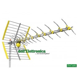 ANTENNA SPEED+47Z HD 47 ELEMENTI CANALI 21/60 LTE