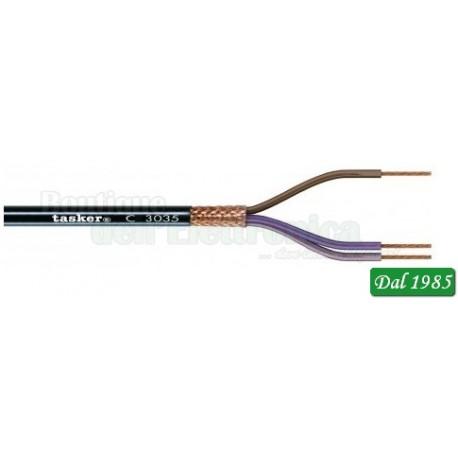 CAVO SCHERMATO C3035 3X0,35mm² 22 AWG TASKER
