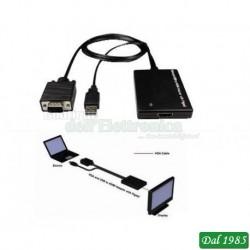 CONVERTITORE VGA-USB IN HDMI