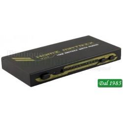 MATRIX HDMI 4 INGRESSI 2 USCITE 4K