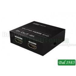 MINI SPLITTER HDMI 2 USCITE 3D 4K X 2K