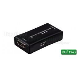 RIPETITORE DI SEGNALE HDMI 4K X 2K 30FPS 10,2GBPS 35M
