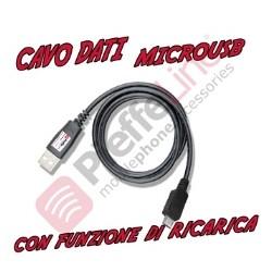 CAVO USB-MICRO USB LUNGHEZZA CAVO 1 METRO-MILI