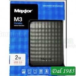 HARD DISK ESTERNO 2,5 M3 2TB MAXTOR NERO