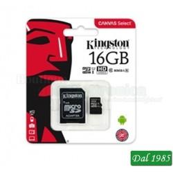 MICRO SD 16GB CLASSE 10