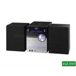 SISTEMA STEREO HI-FI CON RADIO DAB/DAB+ BLUETOOTH CD MP3 USB AUX-IN TREVI HCX 10D8 DAB