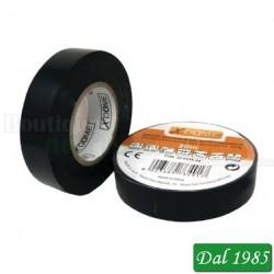 NASTRO ISOLANTE IN PVC 18MM X 20 METRI COLORE NERO