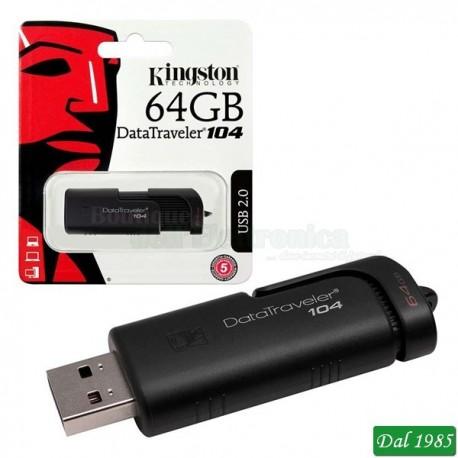 PEN DRIVE KINGSTONE DA 64 GB USB 2.0