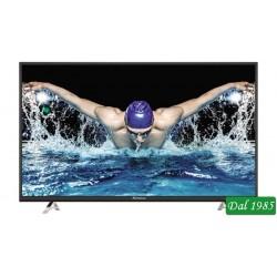 TELEVISORE LED 43 SMART ULTRA HD 4K DVB-T2 H.265 + SAT-S2 STRONG