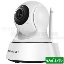 TELECAMERA IP WI-FI MOTORIZZATA HD 720P AUDIO BIDIREZIONALE E SLOT SD ONVIF
