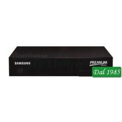 DECODER SAMSUNG SMART COMBO DVB-T2 MHP + SAT FREE, HD, WI-FI, CON TESSERA MEDIASET PREMIUM 6 MESI CINEMA E SERIE TV
