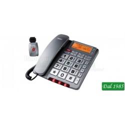 TELEFONO A FILO CON TELECOMANDO SOS SAIET