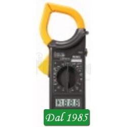 PINZA AMPEROMETRICA CON DISPLAY 3 1/2 DIGIT CAT III 600V