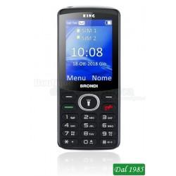 TELEFONO CELLULARE GSM KING COLORE NERO