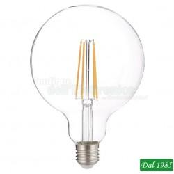 LAMPADINA LED FILAMENT GLOBO G95 E27 8W LUCE NATURALE 4000°K