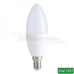 LAMPADINA LED OLIVA E14 9W LUCE CALDA
