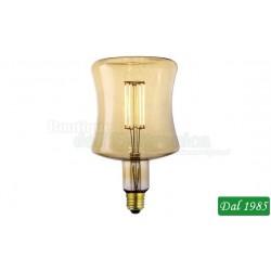 LAMPADINA VINTAGE LED ANFORA 125 DECO LINE E27 4W LUCE CALDA