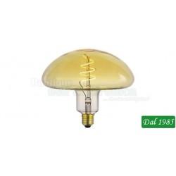 LAMPADINA VINTAGE LED FUNGO DECO FLEX E27 6W LUCE CALDA