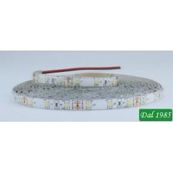 STRISCIA 5M IP65 3528 60LED/M 12V 4,8W/M 420LM/M 4000K