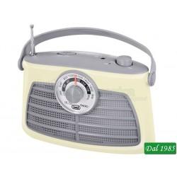 RADIO PORTATILE 2 BANDE TREVI RA 763 V BIANCO