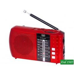 RADIO PORTATILE MULTIBANDA BLUETOOTH MP3 TREVI RA 7F20 BT ROSSO