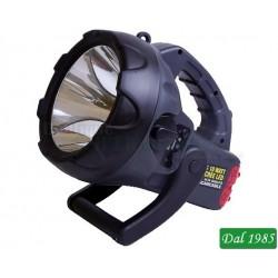 FARO LED 10W CREE LED RICARICABILE