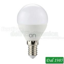 LAMPADINA LED MINI GOCCIA E14 6W LUCE NATURALE