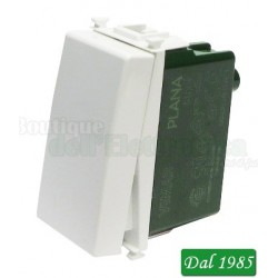 INTERRUTTORE 1P 10A 250 V ILLUMINABILE COLORE BIANCO MAX 100 WATT