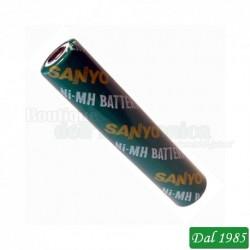 BATTERIA NIMH 5/4AAA 830MAH SANYO HR5/4AAAU