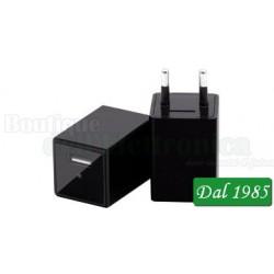 TELECAMERA IP WI-FI NASCOSTA IN UN CARICATORE USB