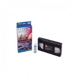 CASSETTA DI PULIZIA VIDEOREGISTRATORI VHS-C