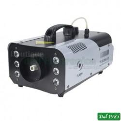 MACCHINA PER IL FUMO CON CONTROLLER WIRELESS E LED RGB 900 WATT