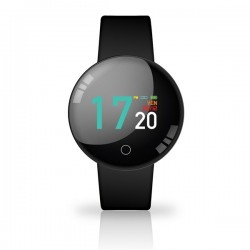 SMARTWATCH JOY COLOR WATERPROOF COLORE BLACK CON CARDIO