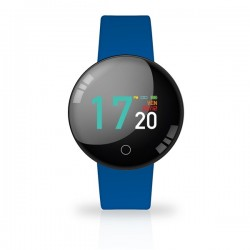 SMARTWATCH JOY COLOR WATERPROOF COLORE DARK BLUE CON CARDIO