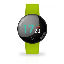 SMARTWATCH JOY COLOR WATERPROOF GREEN CON CARDIO