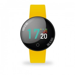 SMARTWATCH JOY COLOR WATERPROOF YELLOW CON CARDIO