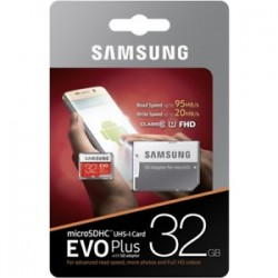 MICRO SDHC SAMSUNG EVO PLUS 32GB