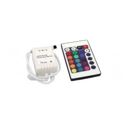 CONTROLLER 24 TASTI PER STRISCIA RGB
