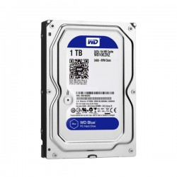 HARD DISK WESTERN DIGITAL HDD 1TB WD10EZRZ, BLUE
