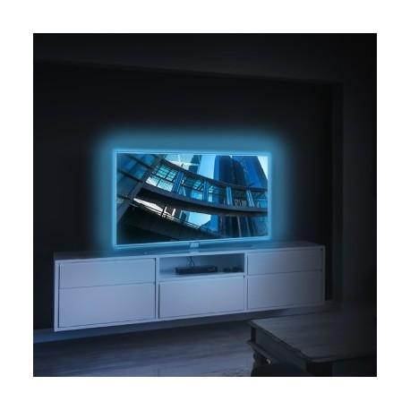 STRIPLEDTV - KIT 2 STRISCE LED SMD RGB PER RETROILLUMINAZIONE TV