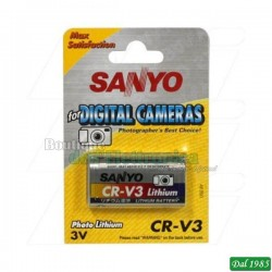 BATTERIA AL LITHIO SANYO CRV3 - CR-V3 - CR-V3P - LB-01