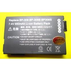 BATTERIA CANON BP308 - BP308S - BP308B - BP-310/315 7,4V 850mAh