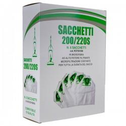 SACCO FILTRO PER FOLLETTO VK200-220 CONFEZIONE 6 PEZZI