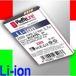BATTERIA PER ALCATEL OT 997 997D 998Batteria Li-ion Capacità 2000 mAh