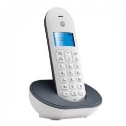 TELEFONO CORDLESS MOTOROLA T101 GRIGIO/BIANCO