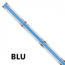 STRISCIA LED BLU COB 5 METRI 24VOLT 15WATT/m 1500lm/m