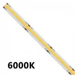 STRISCIA LED COB 5 METRI 6000K 24VOLT 15WATT/m 1500lm/m
