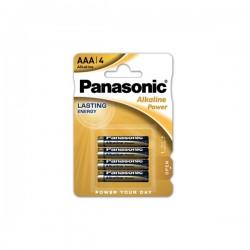 BATTERIA ALKALINA POWER PANASONIC SIZE AAA - LR03APB/4BP