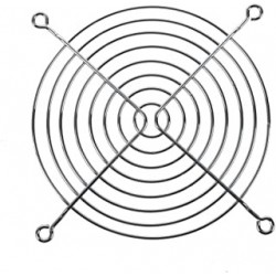 GRIGLIA PER VENTOLE IN METALLO DIAMETRO 110X110