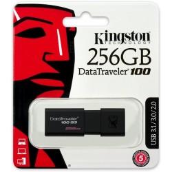 PENDRIVE 256 GB DATATRAVELER DT100 G3 USB 3.0 KINGSTON